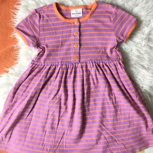 Hanna Orange Stripe Pink Playdress 6-7 120